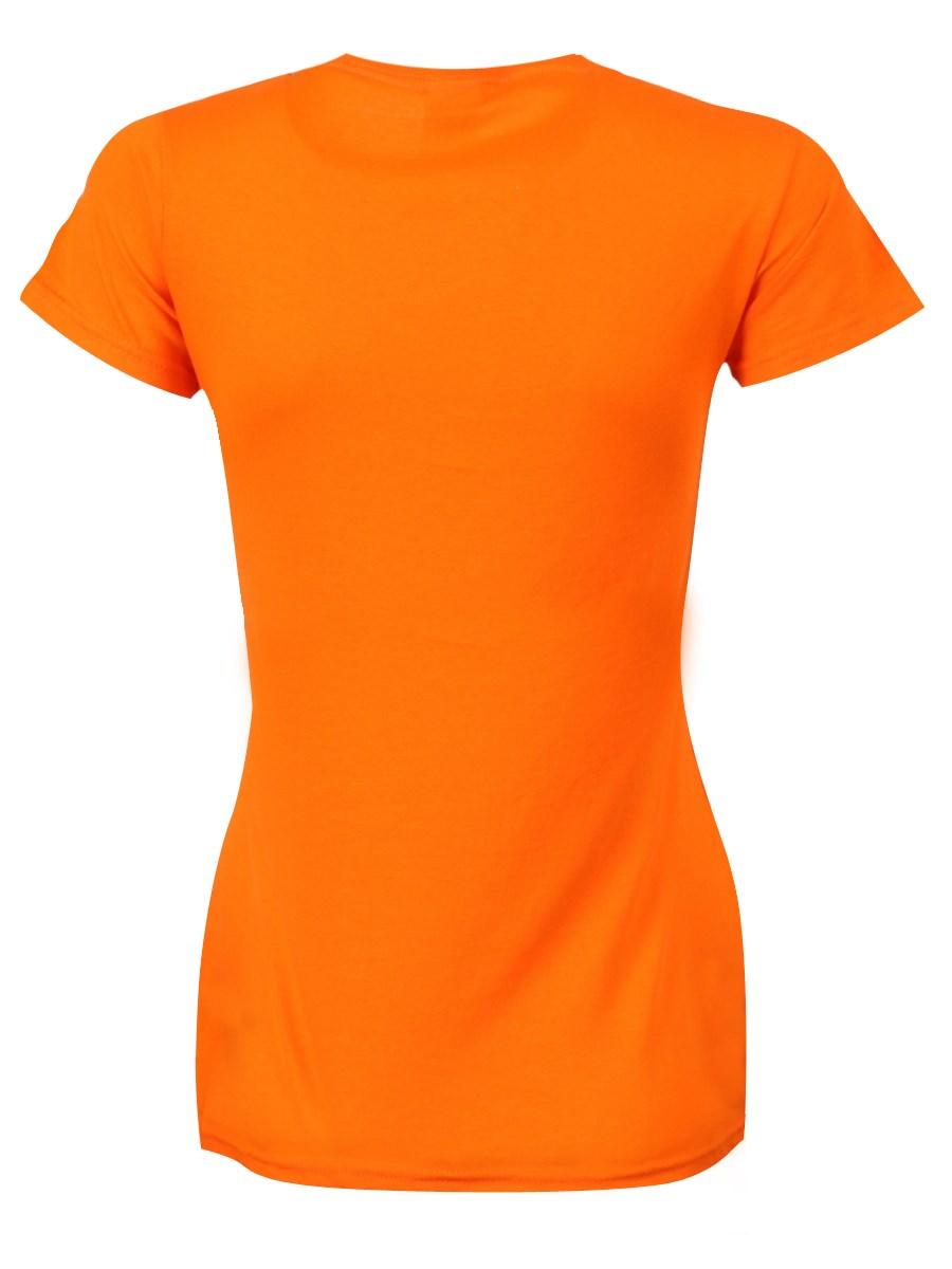 Orange t shirt online shopping