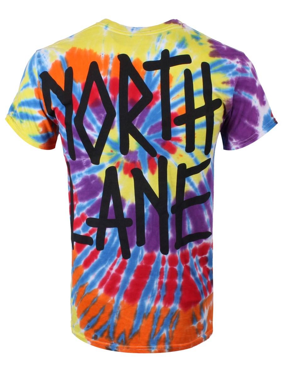 Northlane Deathwish Kaleidoscope Tie Dye T-Shirt - Buy ...