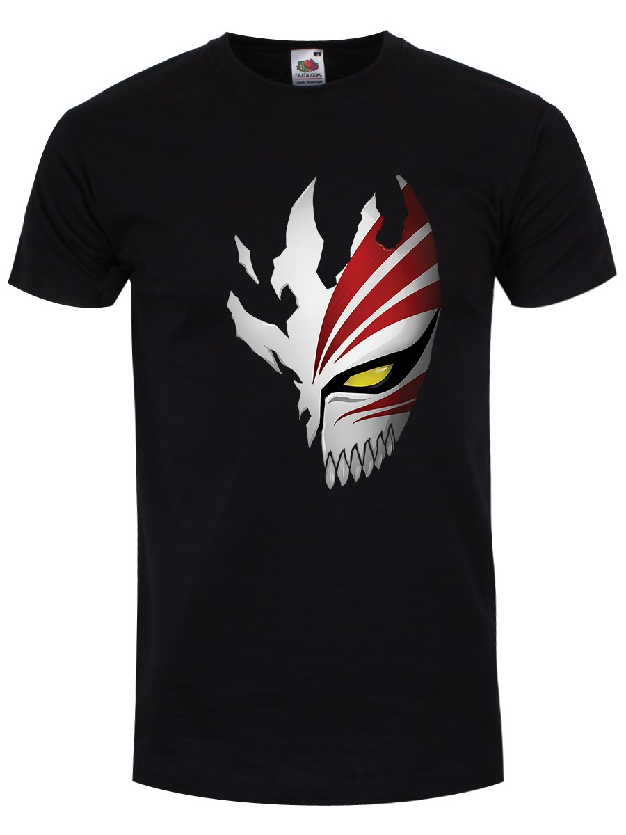 9a7e0972c10e4 Anime Mask Men's Black T-Shirt
