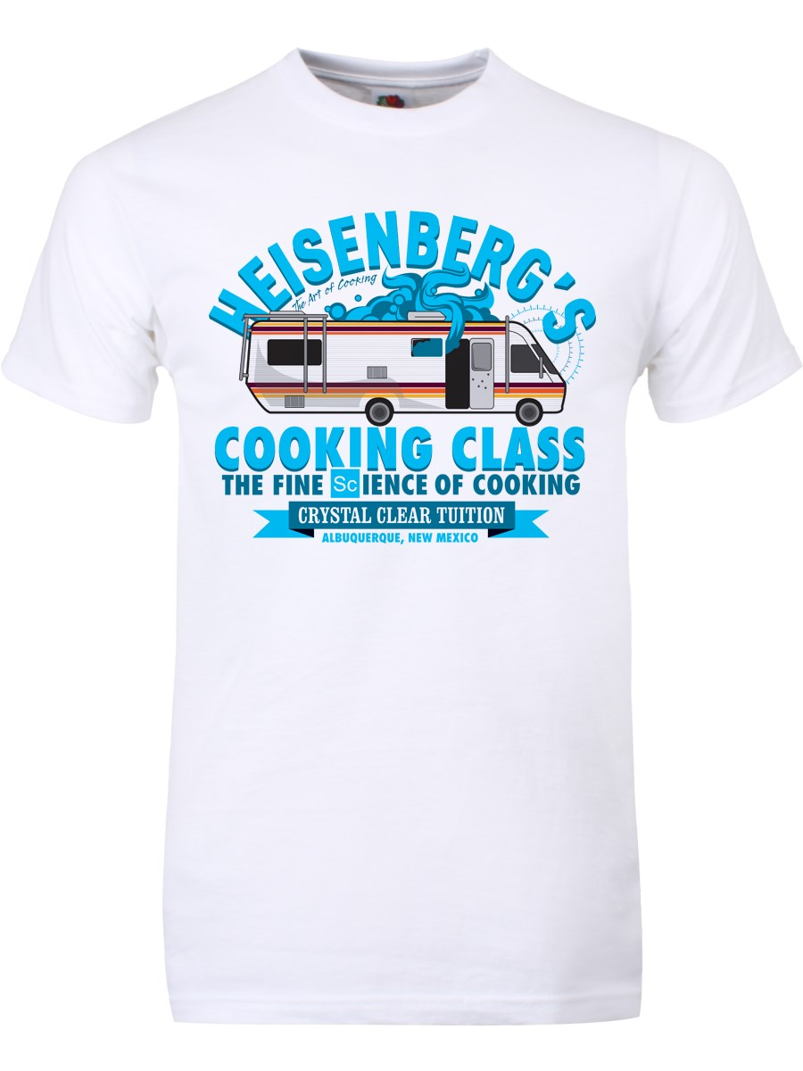 4db7885fa Heisenberg's Clear Tuition Men's White T-Shirt, Inspired by Breaking ...