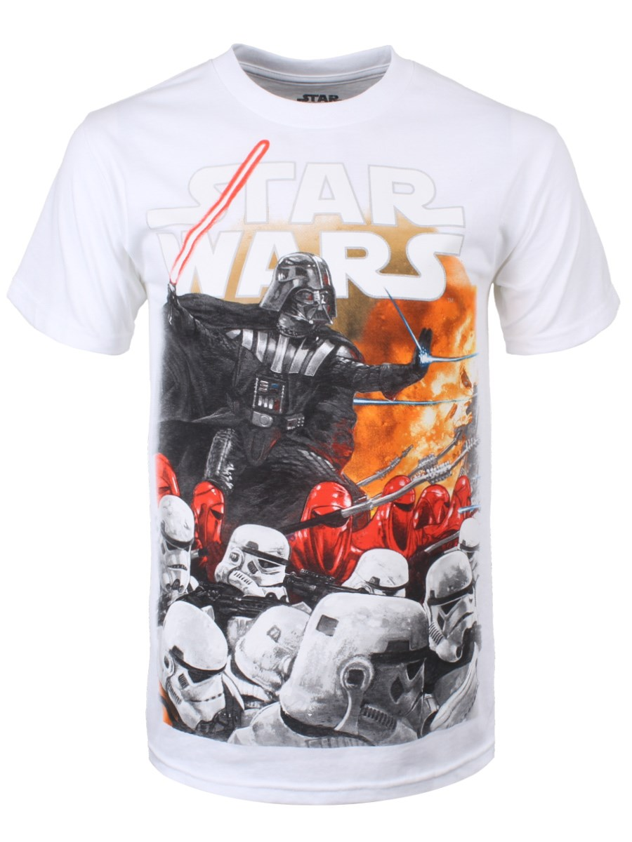 791f47b9 Star Wars Extermination All Over Print Men's T-Shirt - Buy Online at ...