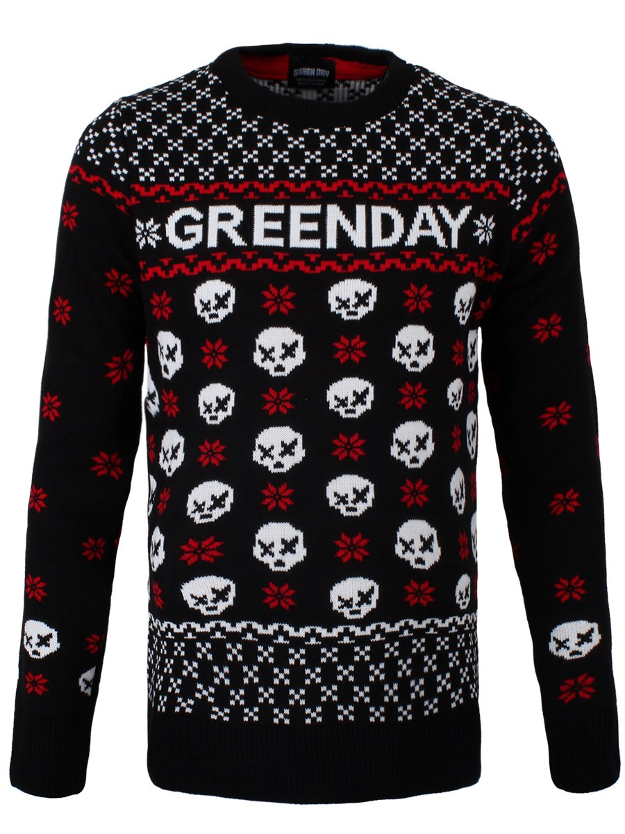 Green Day Christmas.Green Day Christmas Jumper