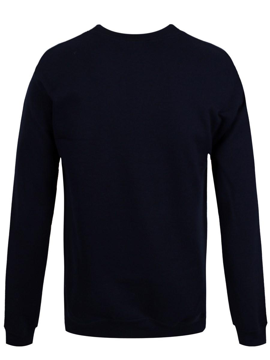 DC Comics Batman Fair Isle Logo Navy Sweatshirt - Buy Online at ...