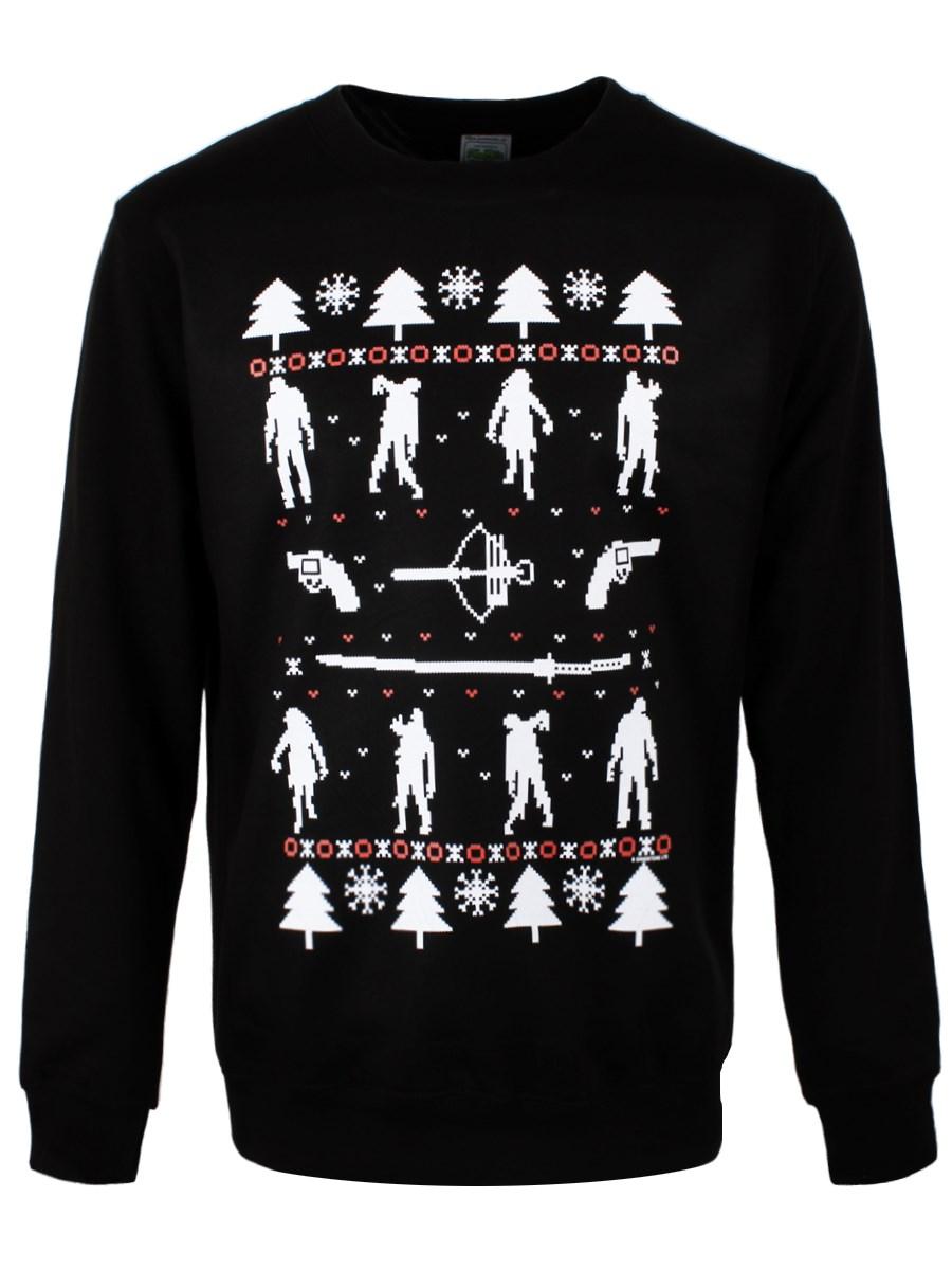 Zombie Men's Christmas Jumper - Buy Online at Grindstore.com