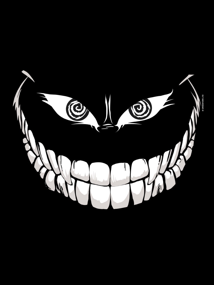 Crazy monster grin men 39 s black t shirt buy online at for Crazy t shirt designs