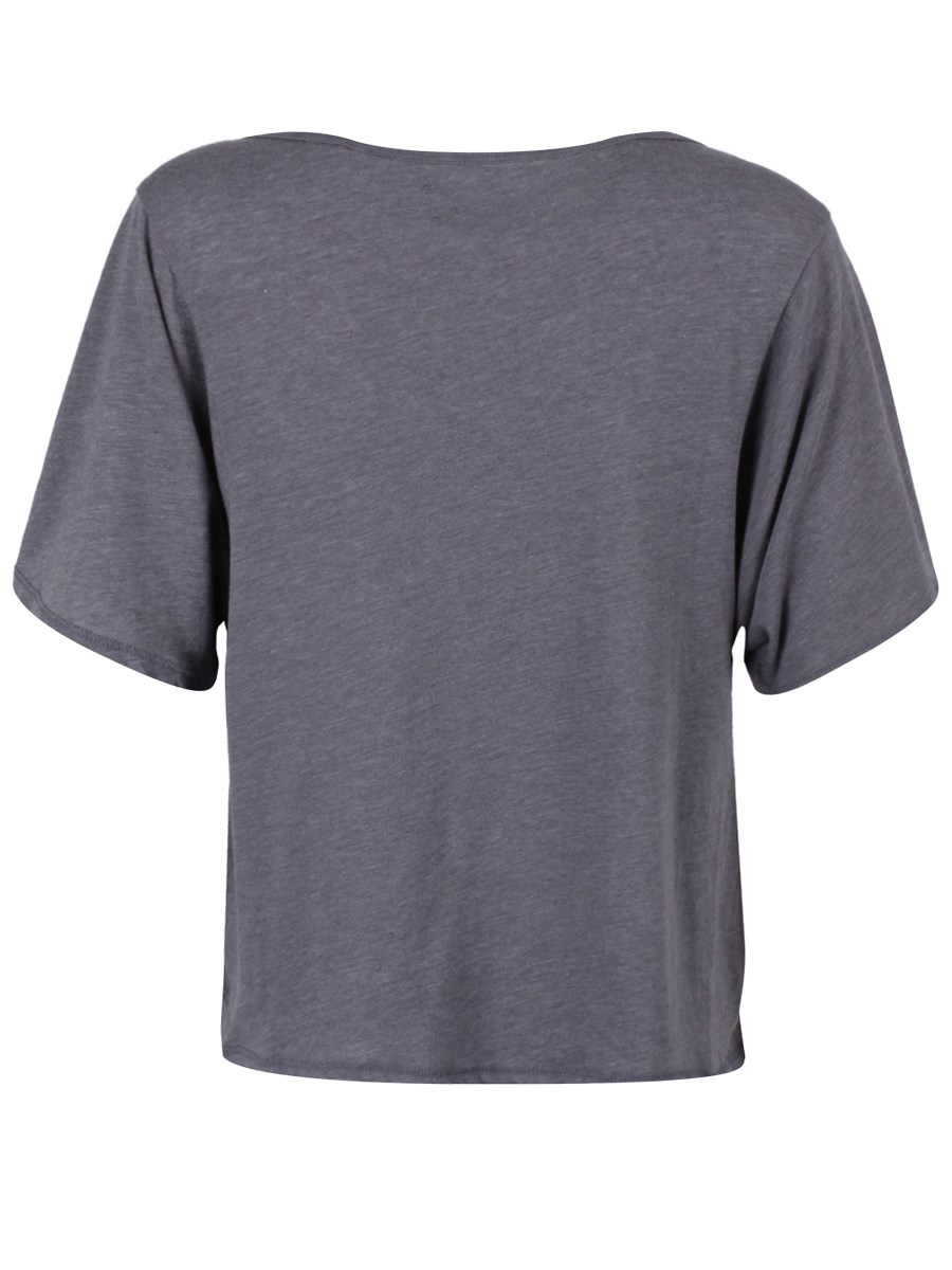 22bfab9a191942 Vans Starstruck Heather Grey Crop Top - Buy Online at Grindstore.com