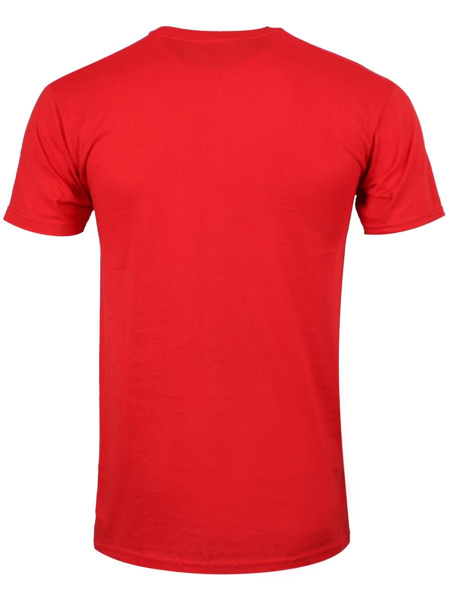 Horror Road Men's Red T-Shirt - Buy Online