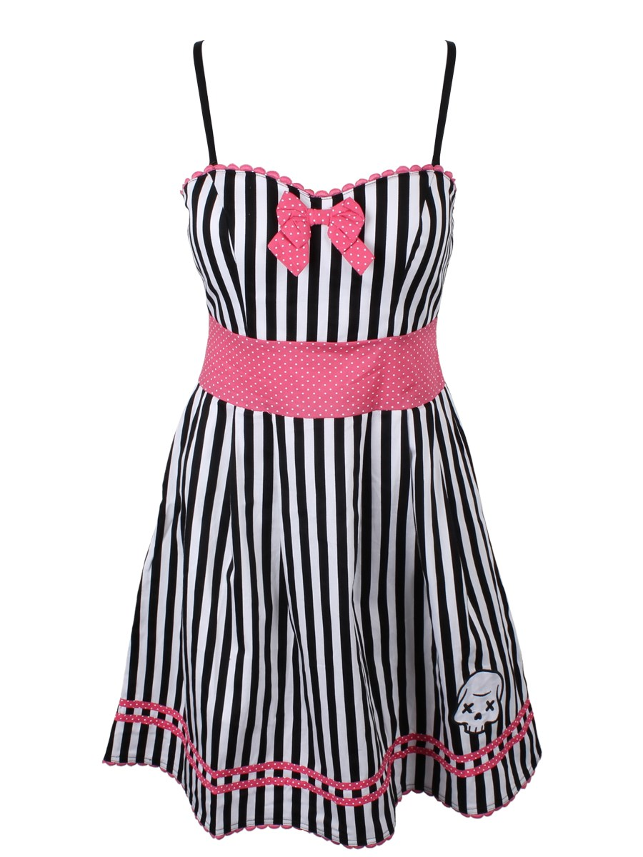 42712203103 Sourpuss Party Skull Dress - Buy Online at Grindstore.com