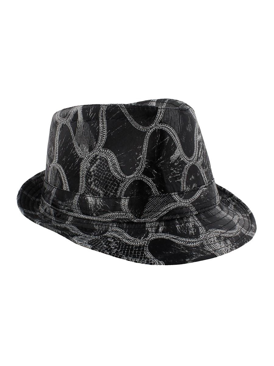 Snakeskin Print Fedora Hat - Buy Online at Grindstore.com d456c91d71c