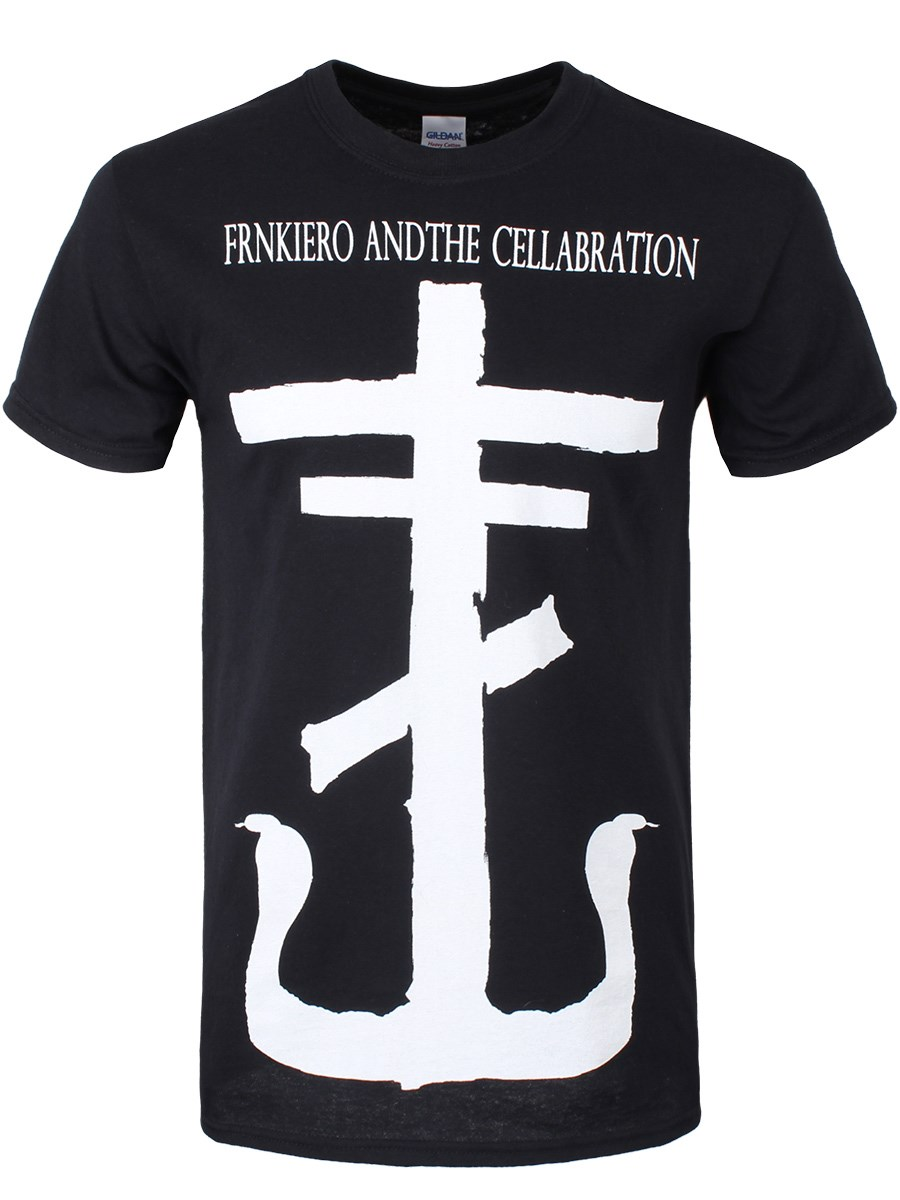 Frnkiero And The Cellabration Symbol Mens Black T Shirt Buy