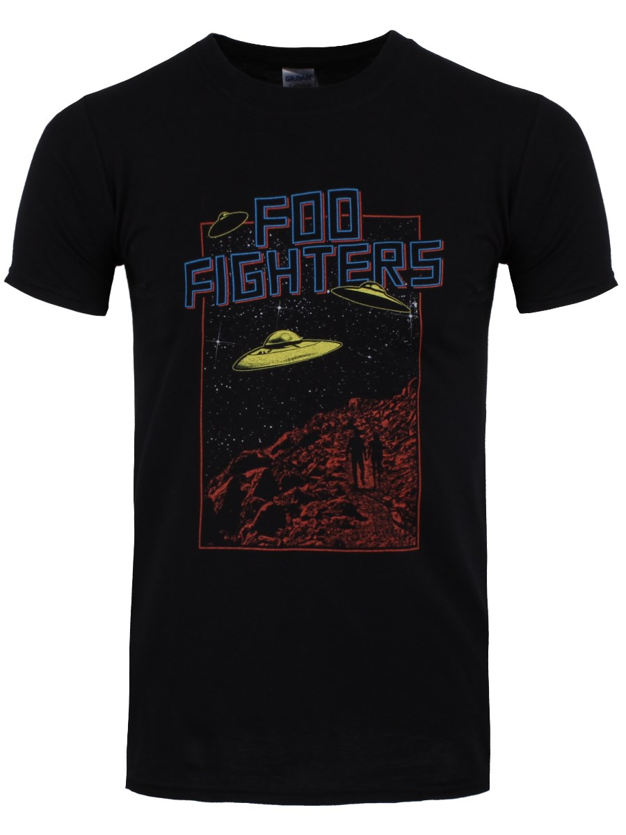 8818dc55fb40 Foo Fighters UFO 2015 Tour Men's Black T-Shirt - Buy Online at ...