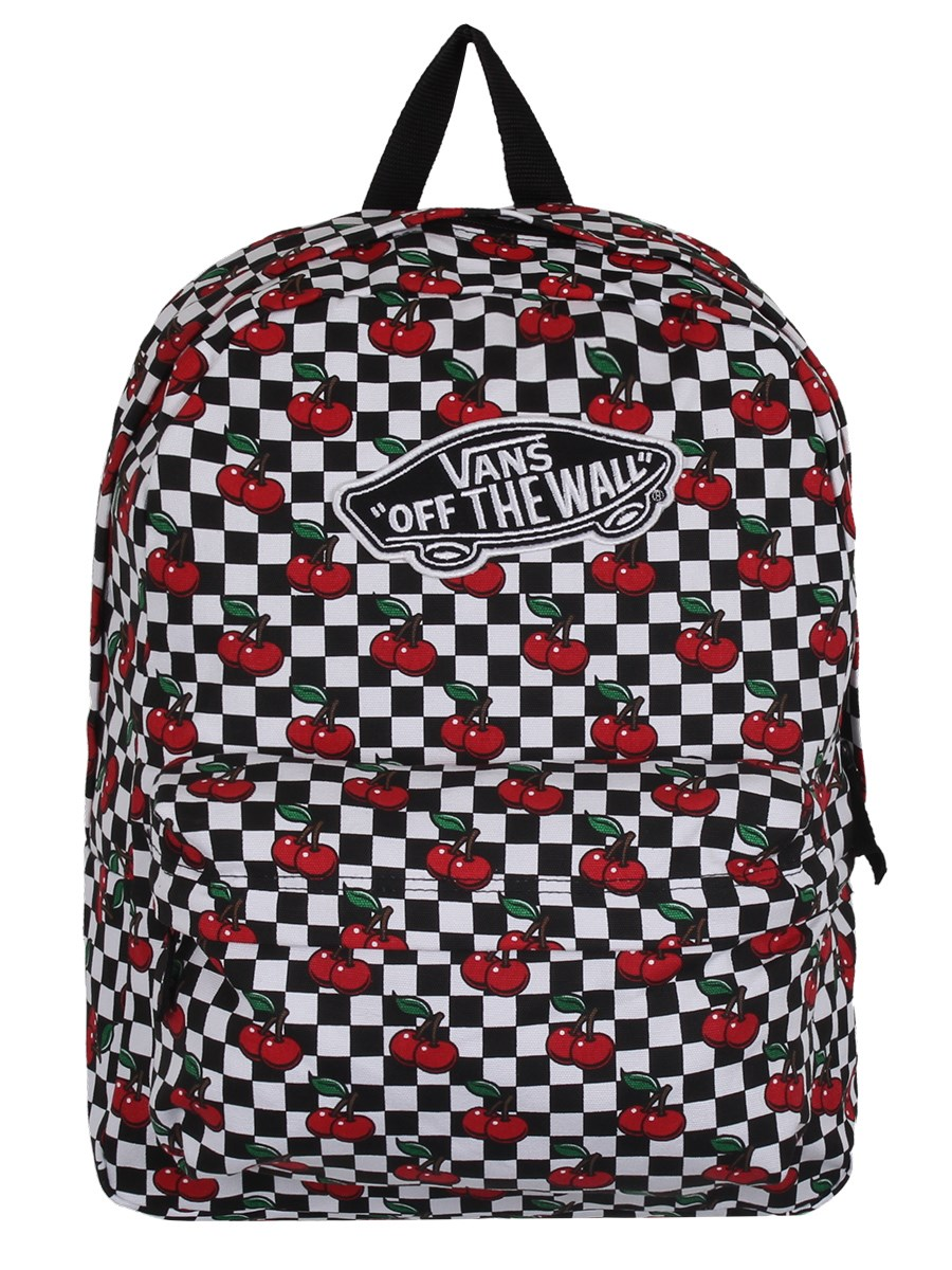 49d2cab1c5 Vans Cherry Checker Realm Backpack - Buy Online at Grindstore.com