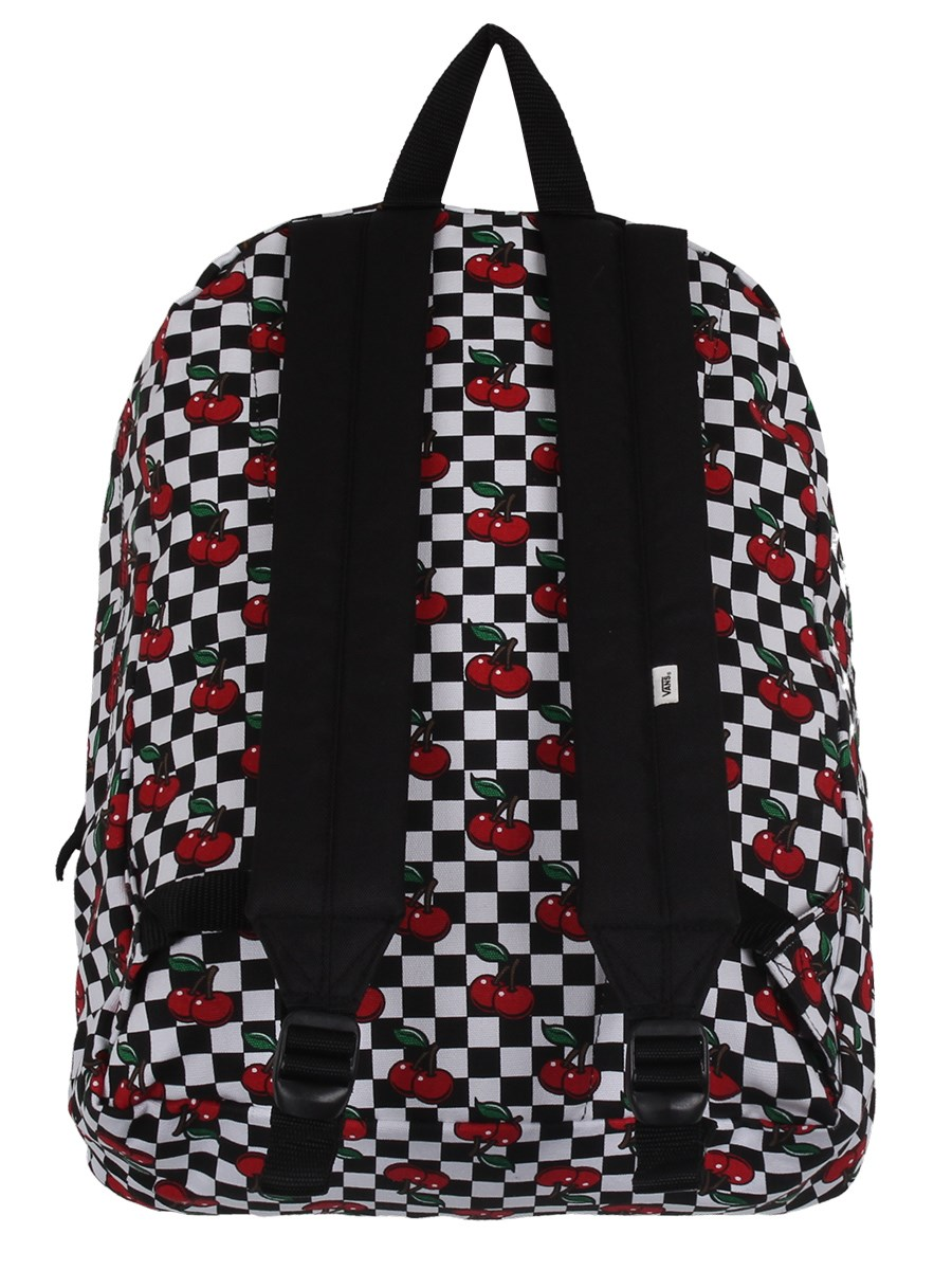 d464782e149 Vans Cherry Checker Realm Backpack - Buy Online at Grindstore.com