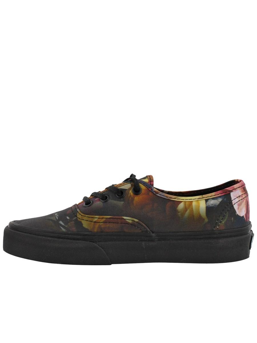81db1922738 Vans Ombre Floral Authentic Black Womens Trainers - Buy Online at ...