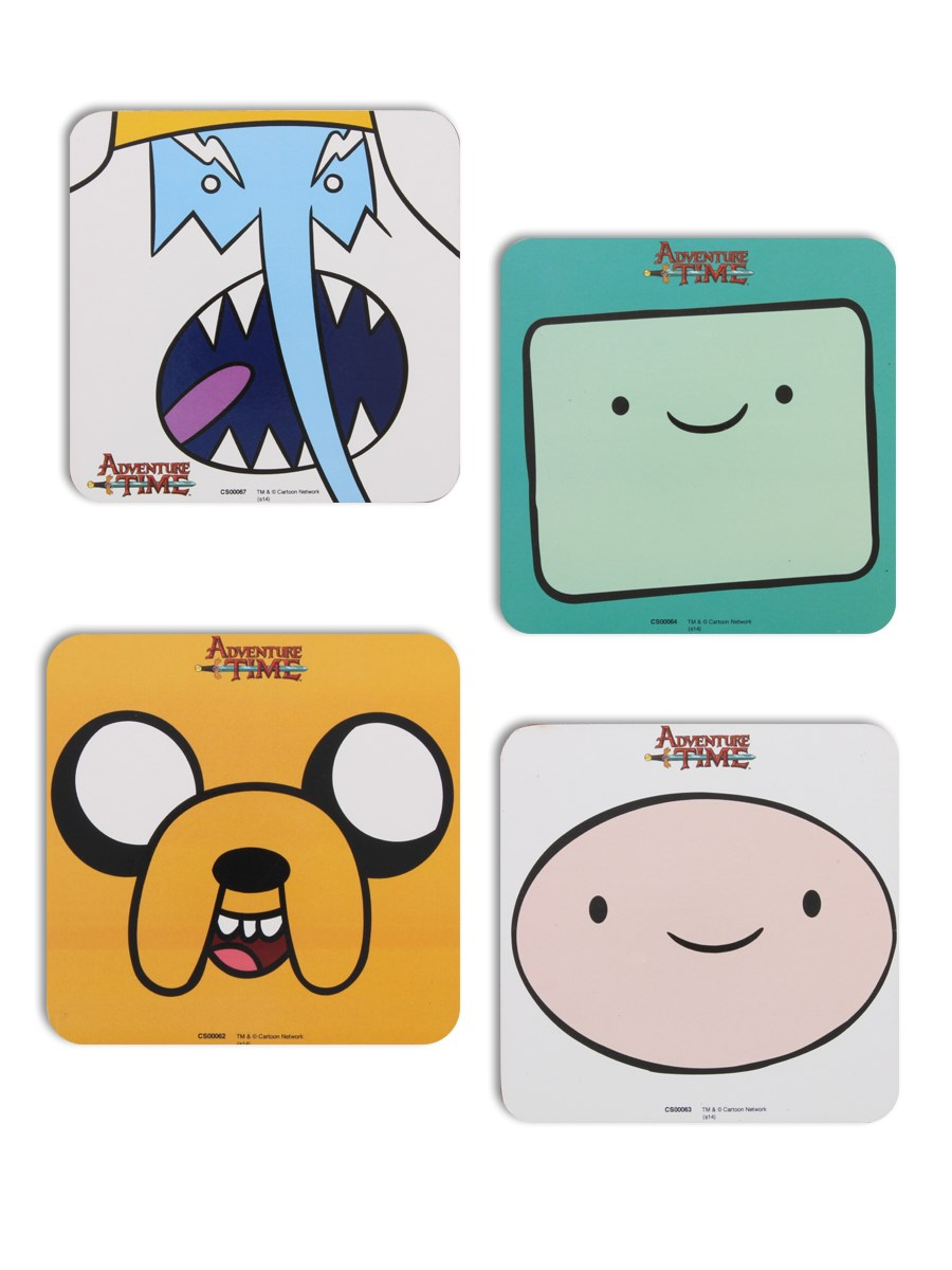 73fac997f36 Adventure Time Characters Coaster Set - Buy Online at Grindstore.com