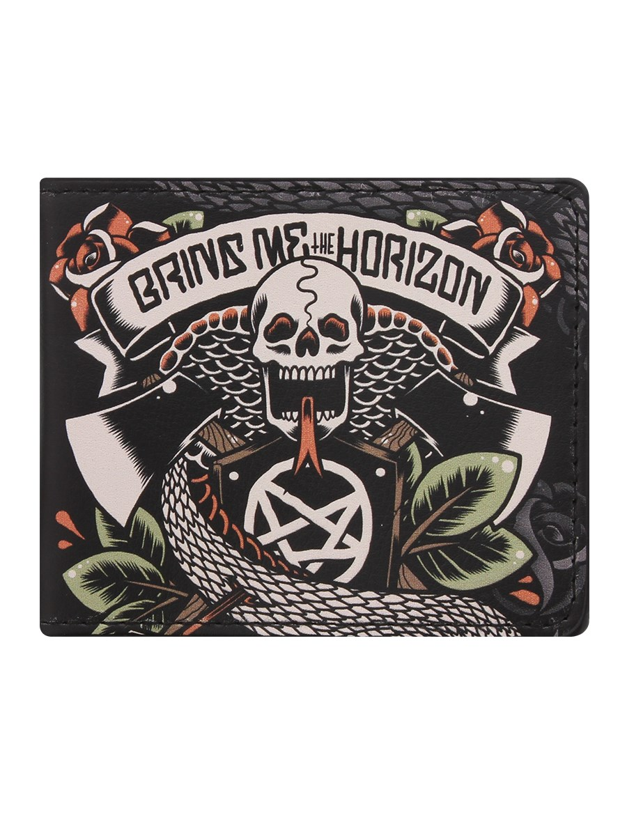 Bring Me The Horizon Tattoo Bi Fold Wallet Buy Online At