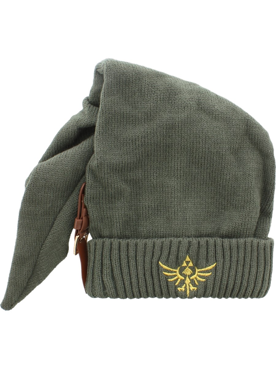 781f4edb619 Nintendo Zelda Long Pointed Beanie With Buckle - Buy Online at ...