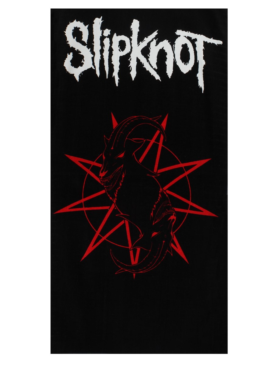 Slipknot Logo Beach Towel Buy Online At Grindstore Com