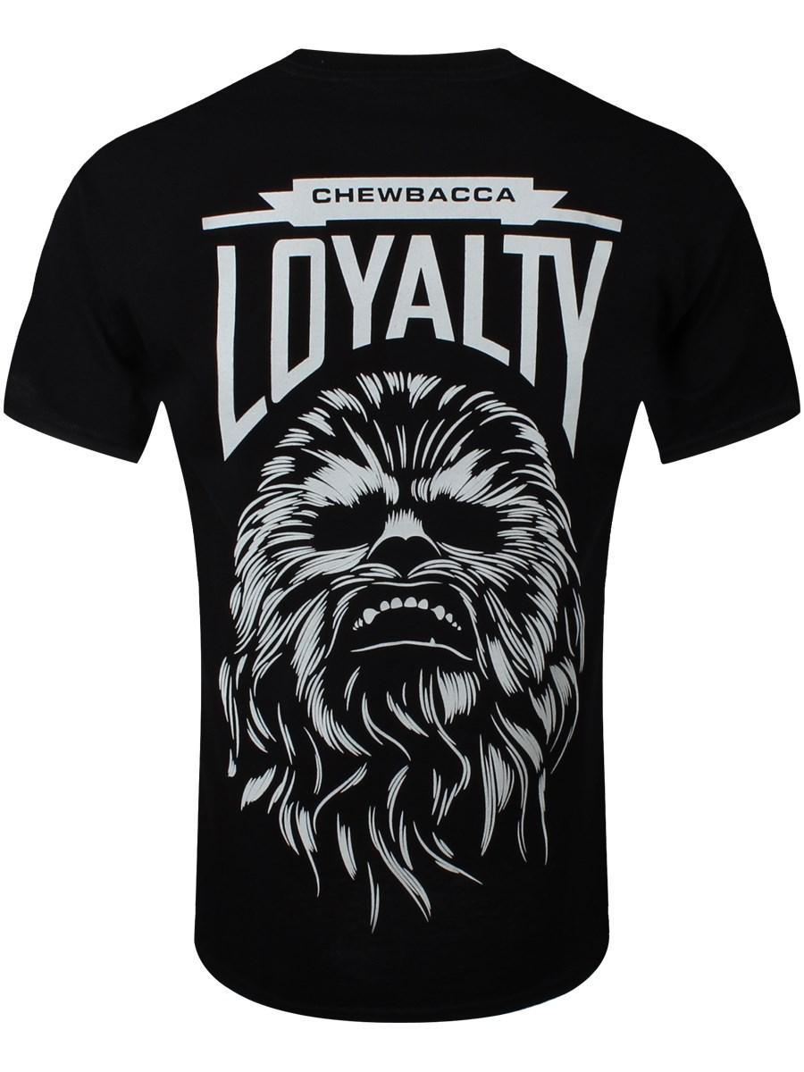 309db4a0 Star Wars Chewbacca Loyalty Men's Black T-Shirt - Buy Online at ...