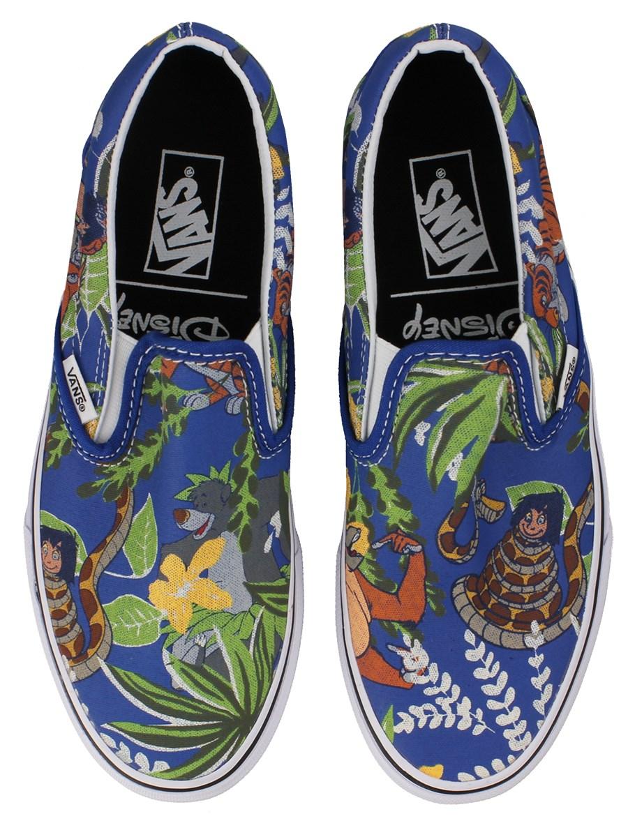 2c0da36a4501 Vans Disney The Jungle Book Classic Slip-On (Laceless) Trainers ...