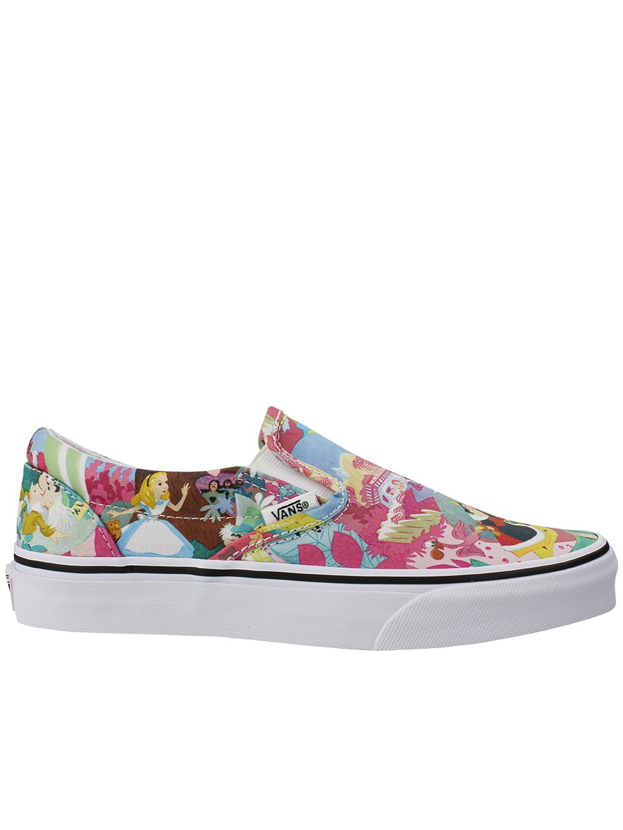 f84d34f25d Vans Disney Alice In Wonderland Classic Slip-On Trainers - Buy ...