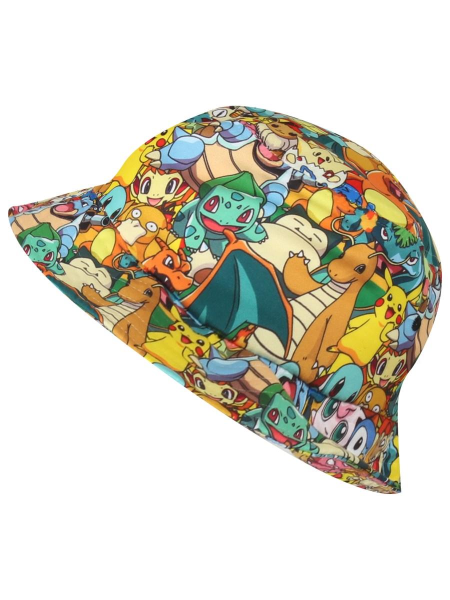 Pokemon Characters Bucket Hat - Buy Online at Grindstore.com 62361562ea9