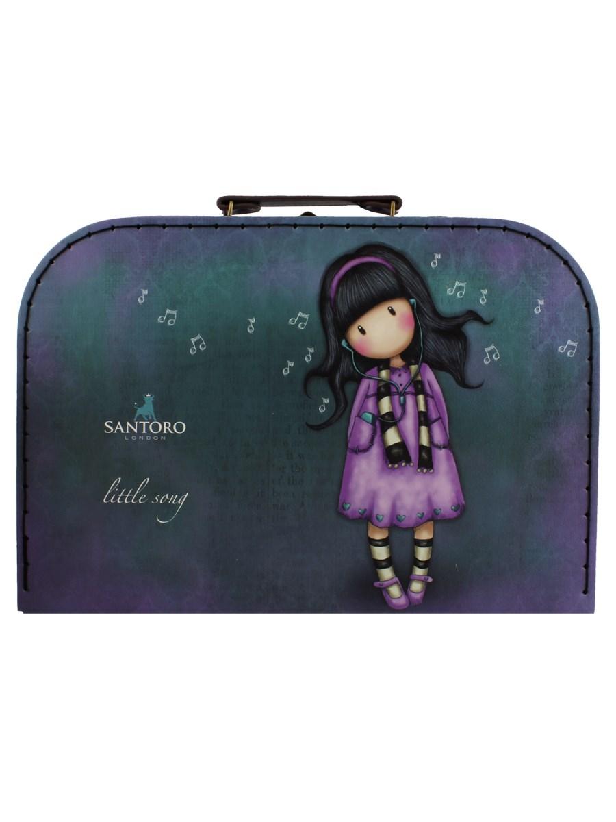 5f6e780c0 Santoro Gorjuss Large 'Suitcase' Storage Box - Little Song - Buy ...