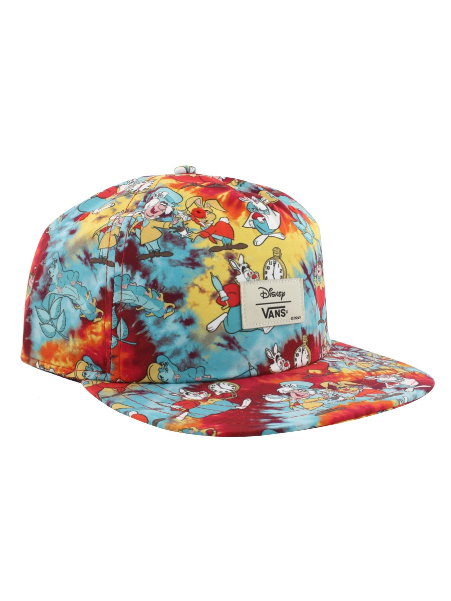 32046649771 Vans Disney Wonderland Snapback Cap - Buy Online at Grindstore.com