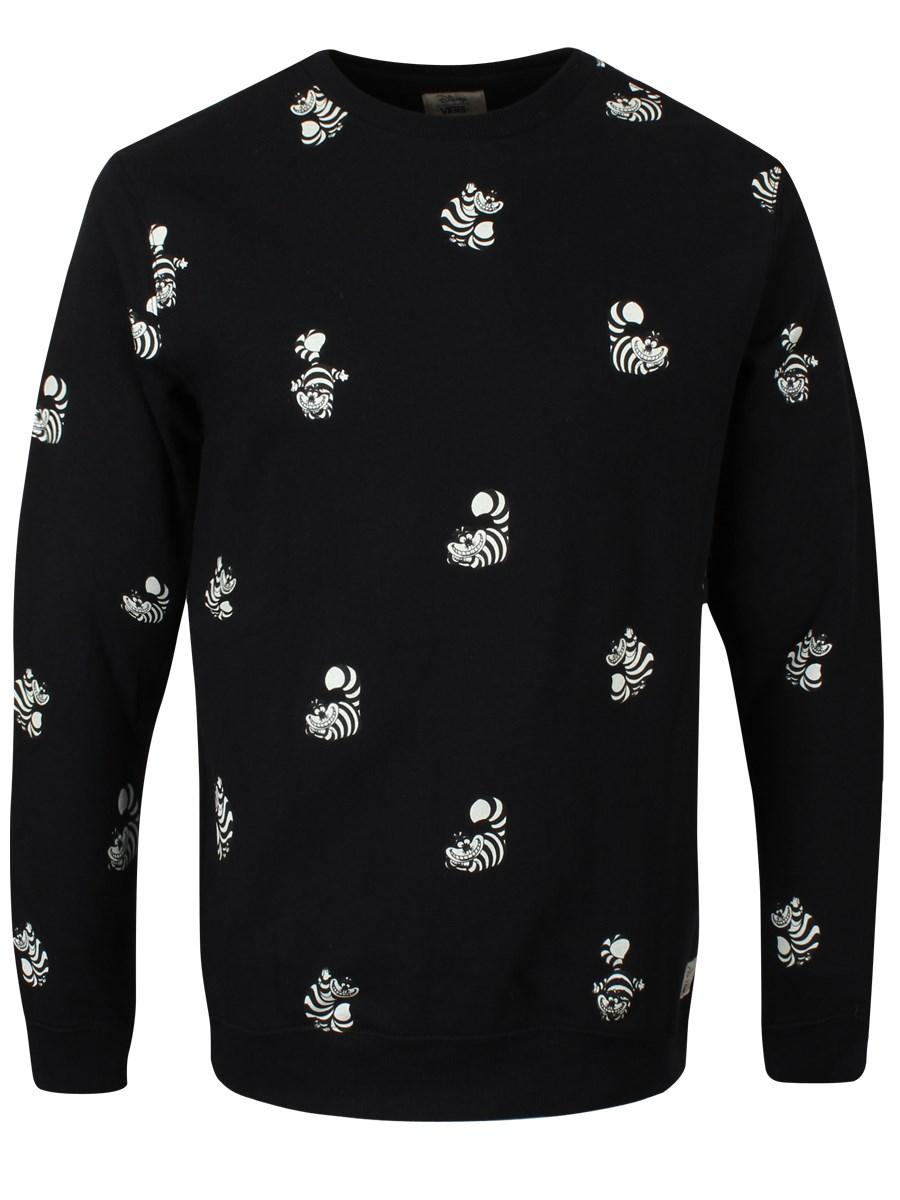 2e3c73e39d Vans Disney Cheshire Cat Men s Crew Neck Sweatshirt - Buy Online at ...
