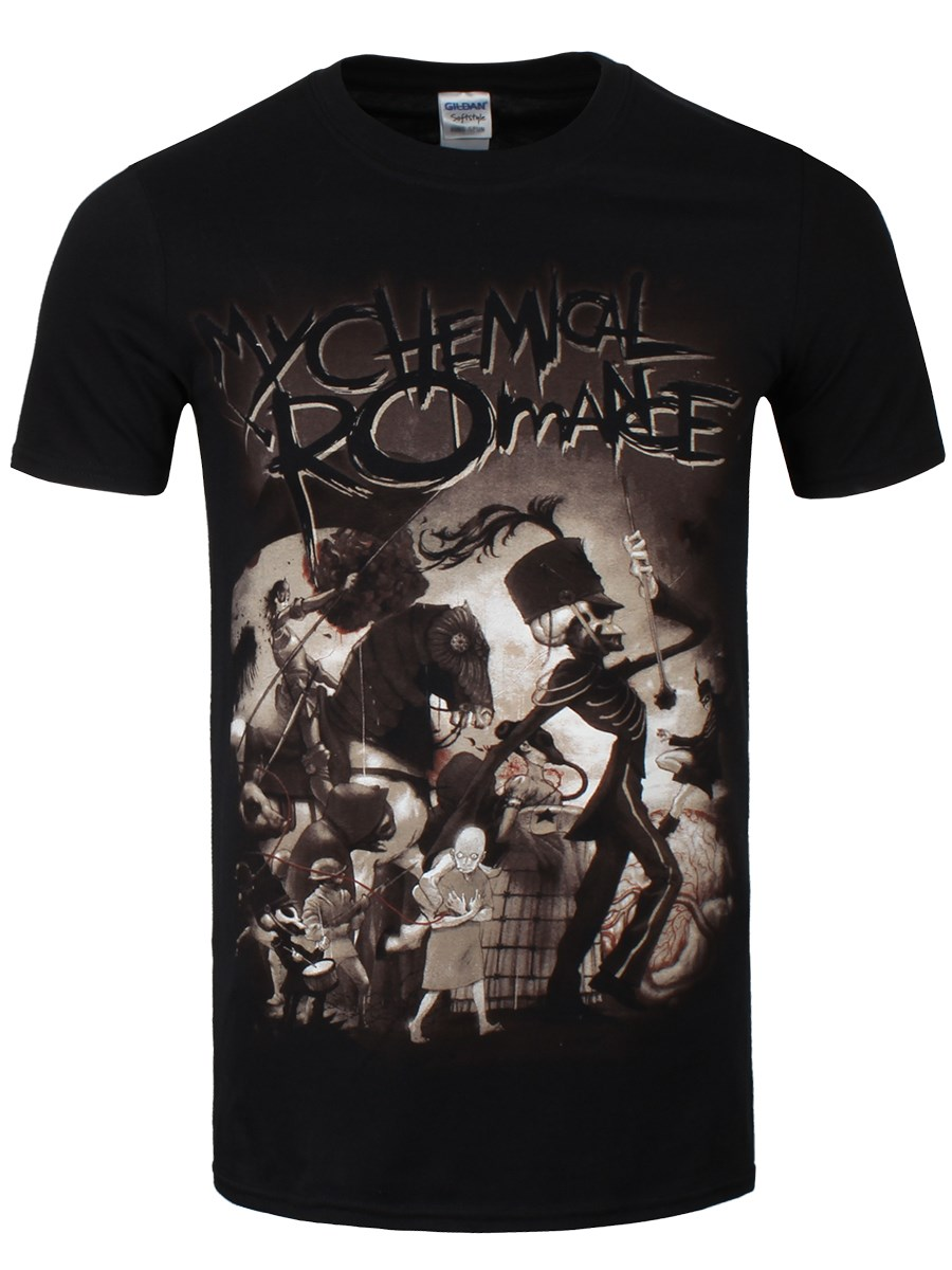 My Chemical Romance On Parade Men's Black T-Shirt - Buy