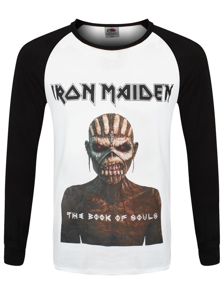 Iron Maiden Book Of Souls Men\'s Raglan T-Shirt - Buy Online at ...