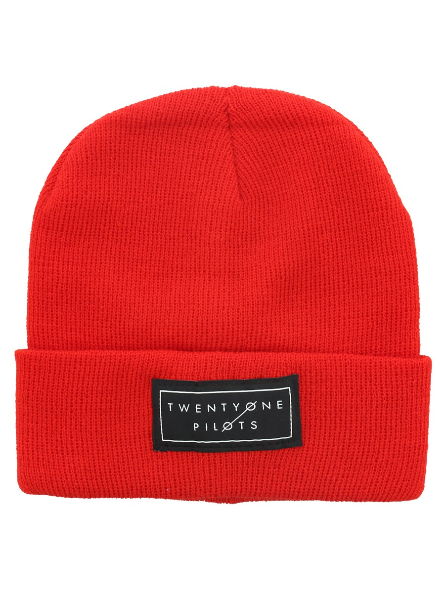 Twenty One Pilots Logo Red Beanie - Buy Online at Grindstore.com a8fb2c691554