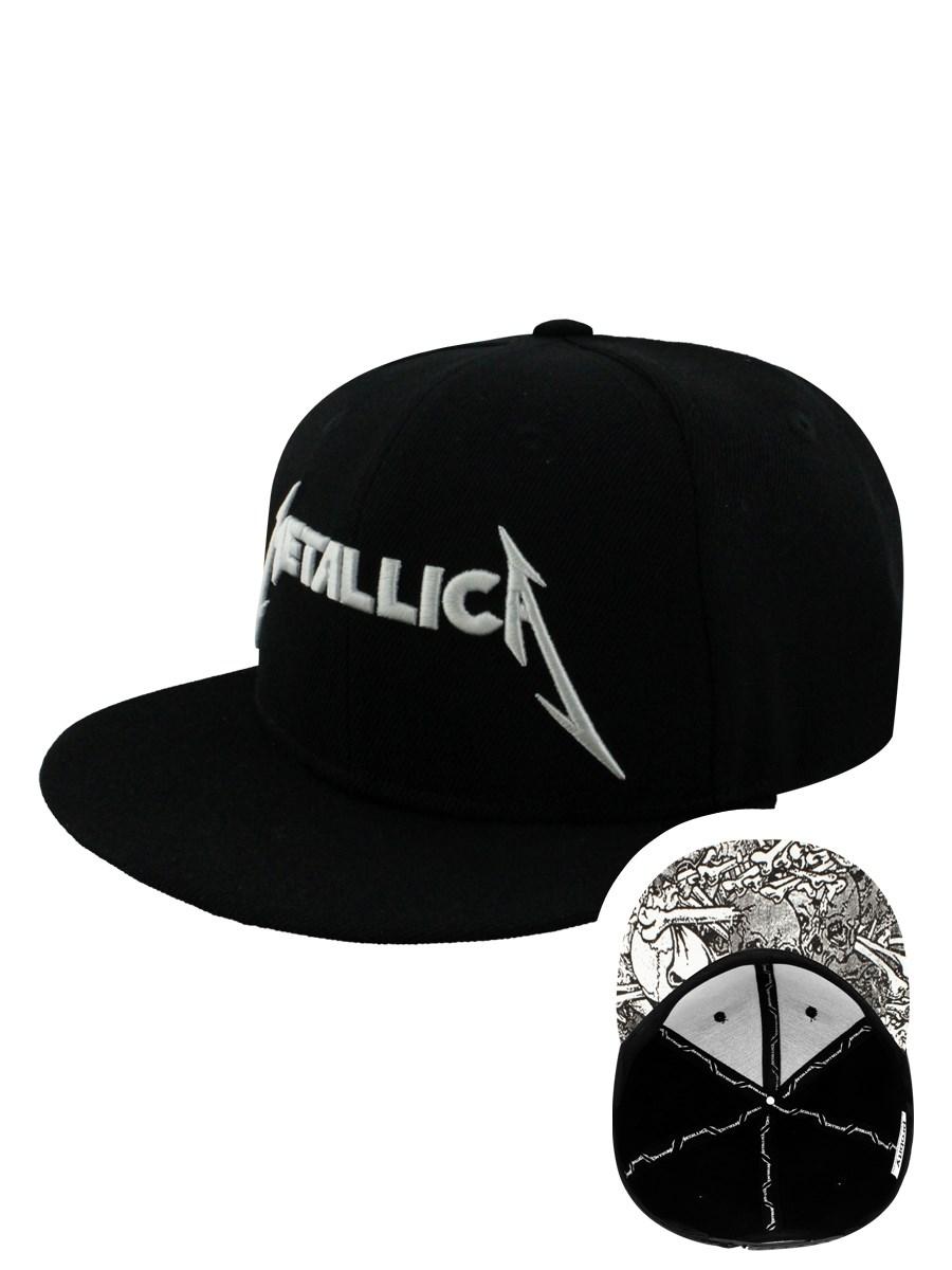 Metallica Damage INC Black Snap Back Cap - Buy Online at Grindstore.com 94af67e695