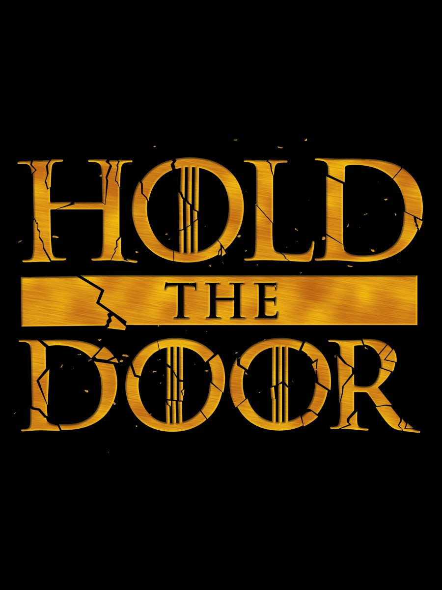 Hold the door men 39 s black t shirt inspired by game of Where can i buy game of thrones t shirts