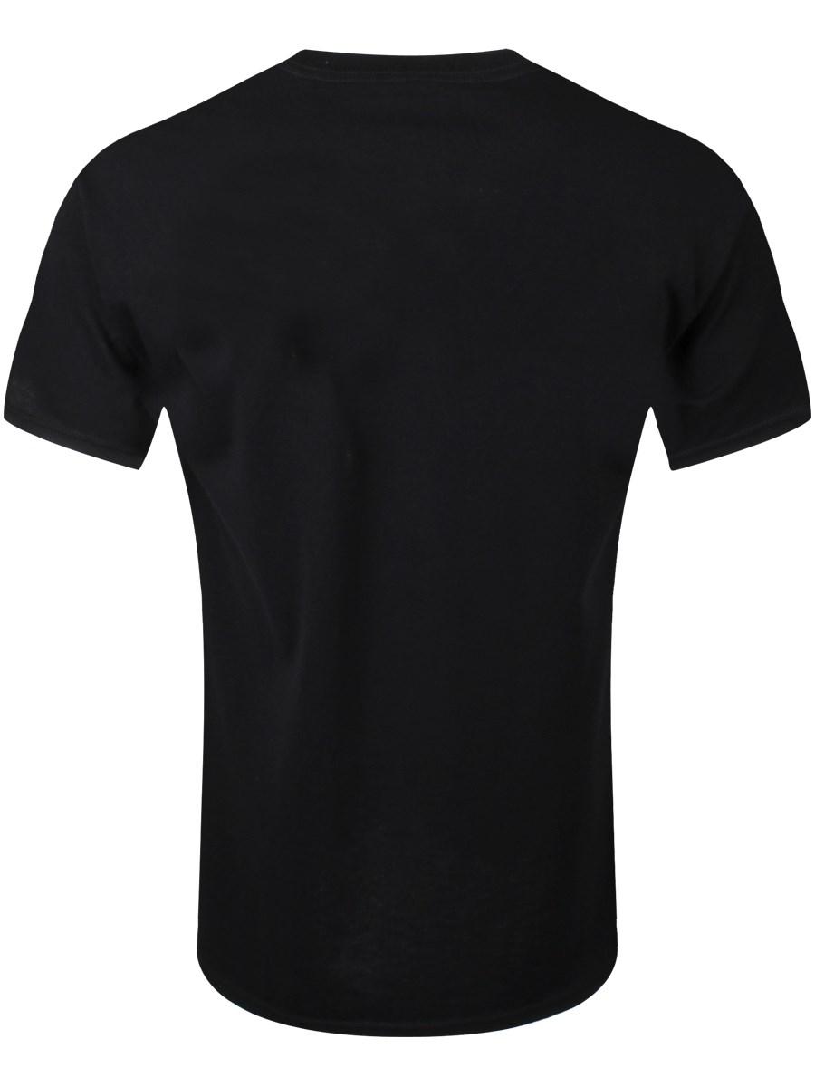 5741141e Black Sabbath Wavy Logo Vintage Black Men's T-Shirt - Buy Online at ...