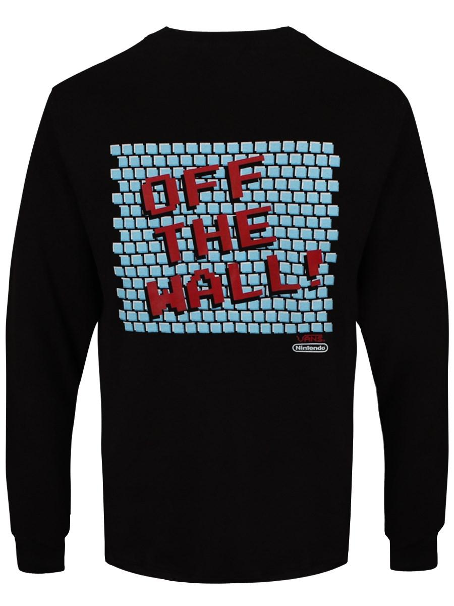 96f9417d4ea326 Vans Nintendo Off The Wall Men s Long Sleeved T-Shirt - Buy Online ...