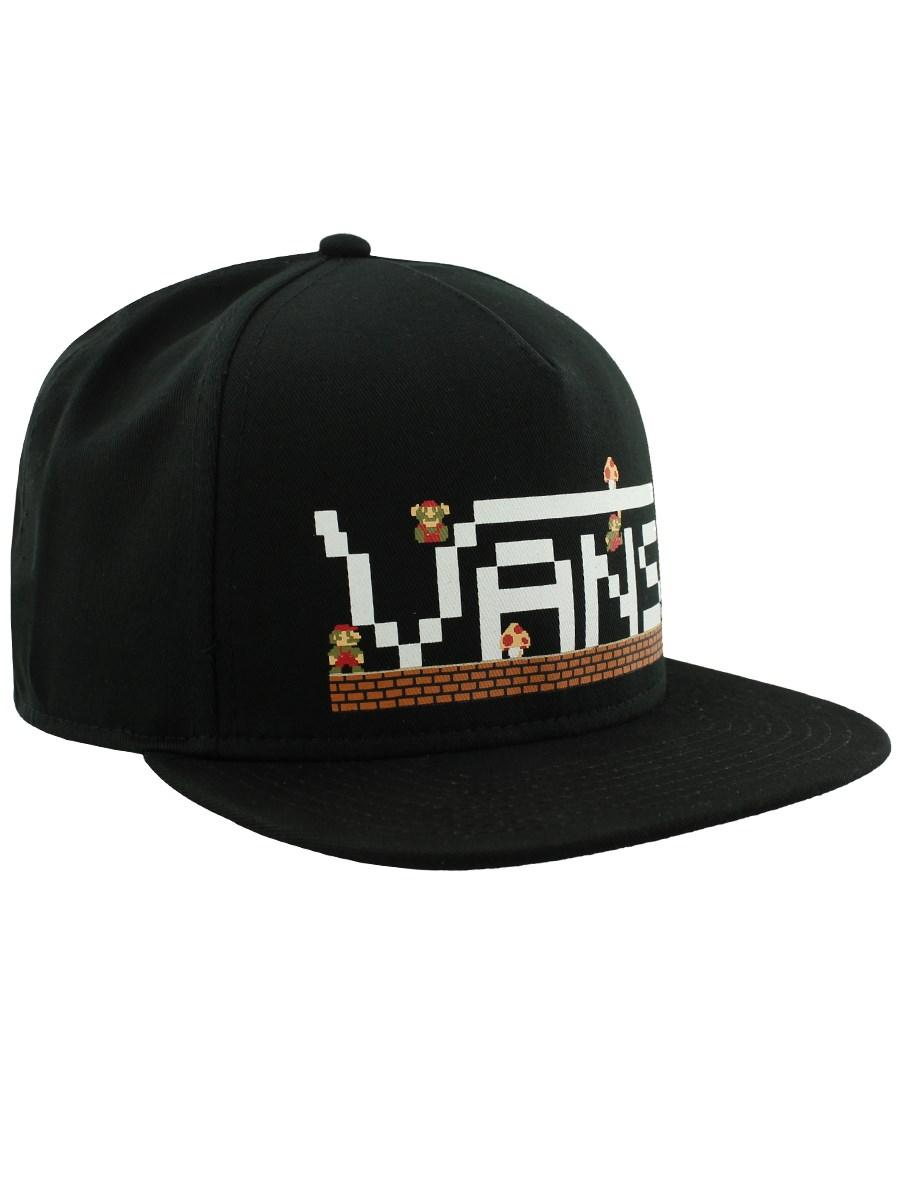 Vans Nintendo Super Mario Flat Peak Snapback Cap - Buy Online at ... 9ddf71984af