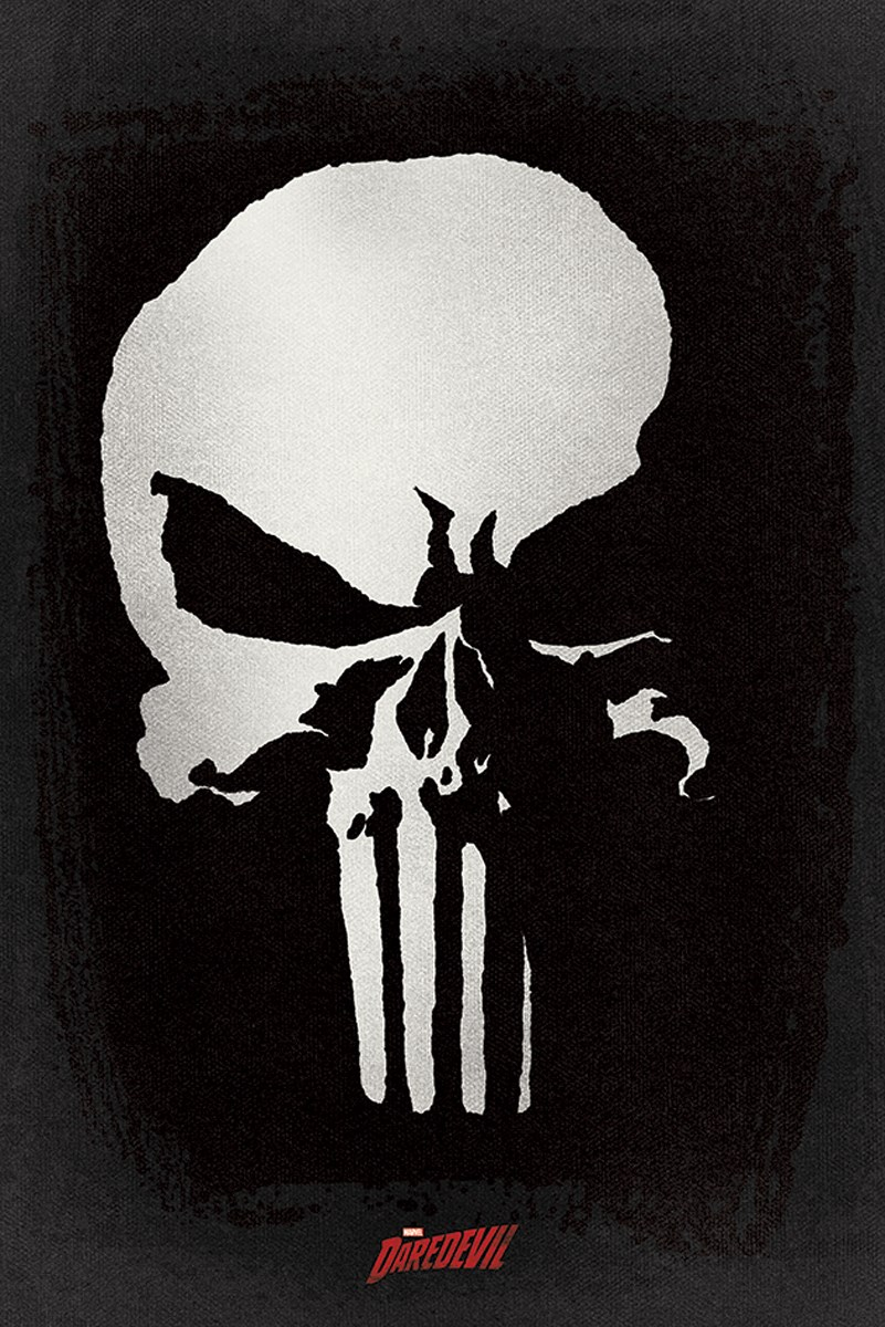 daredevil tv series punisher poster