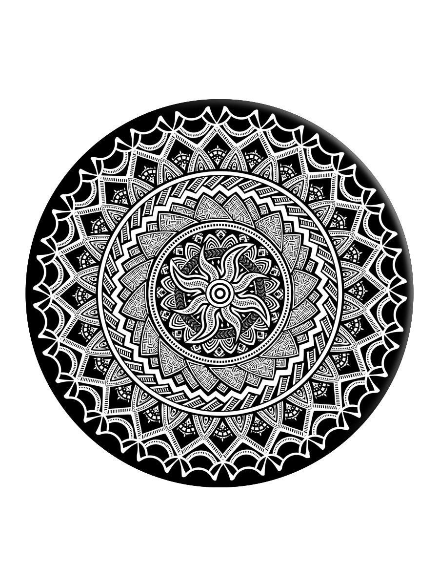Monochrome Mandala Popsocket Phone Stand And Grip Buy