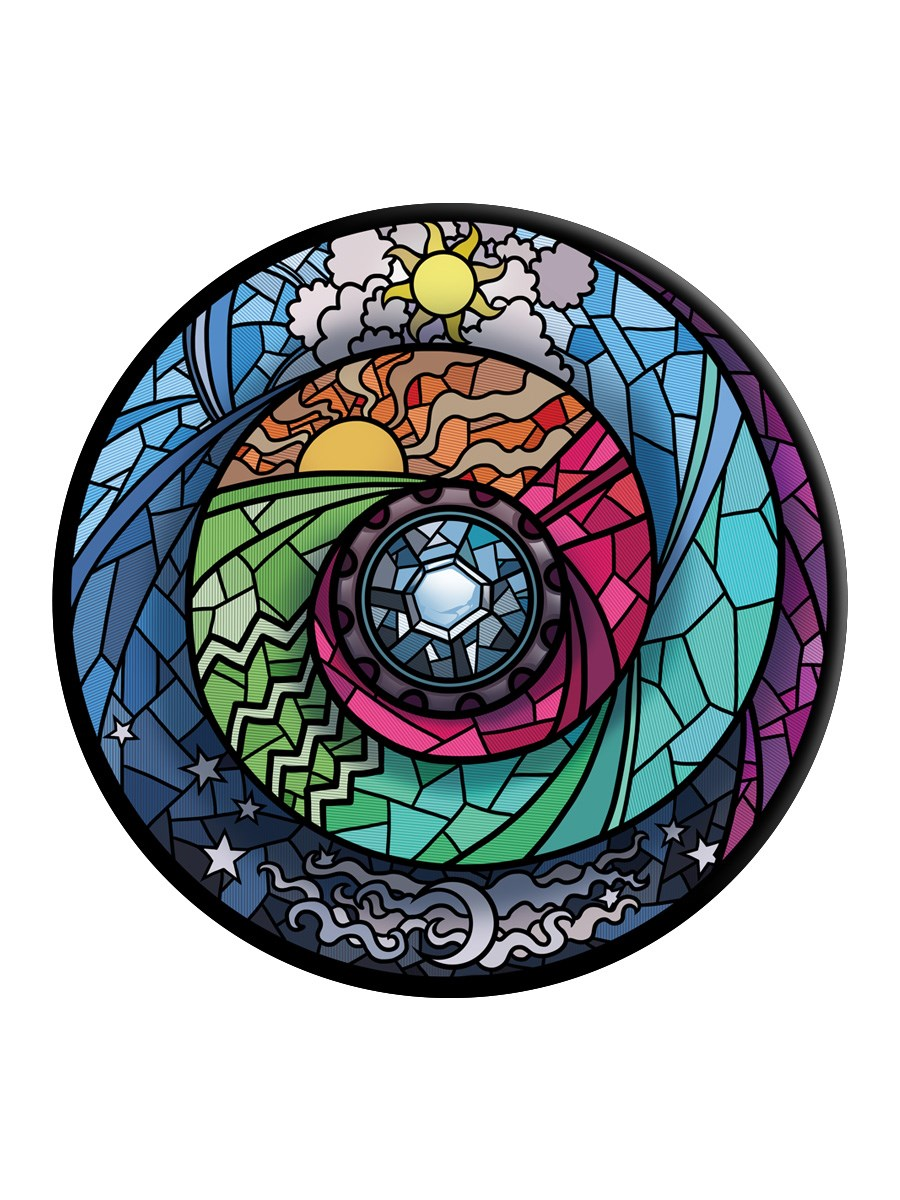 Stained Glass Spectroscope PopSocket - Phone Stand and ...