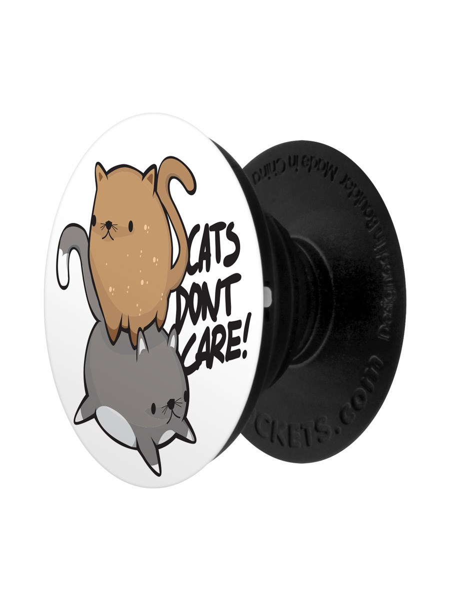 Cats Don\u002639;t Care! PopSocket  Phone Stand and Grip  Buy