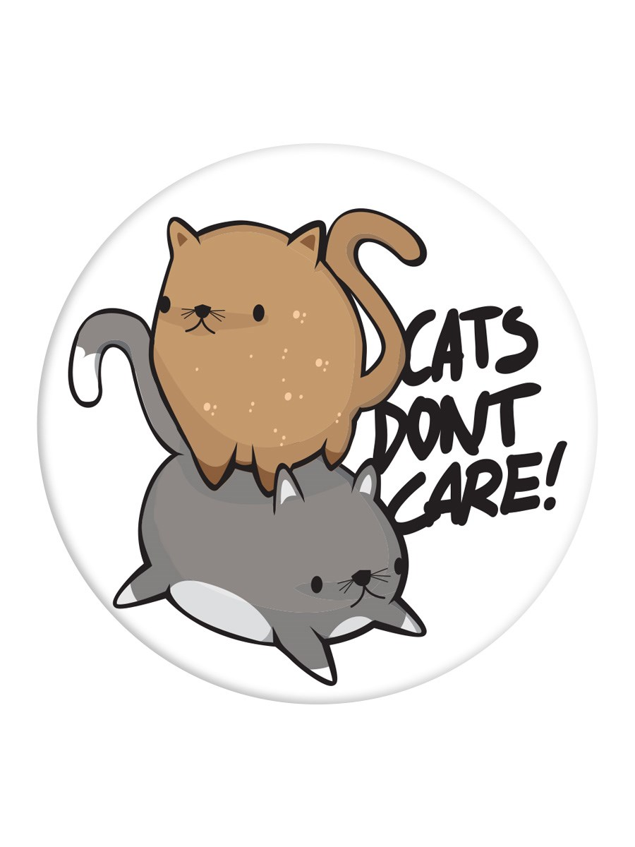 Cats Don T Care Popsocket Phone Stand And Grip Buy