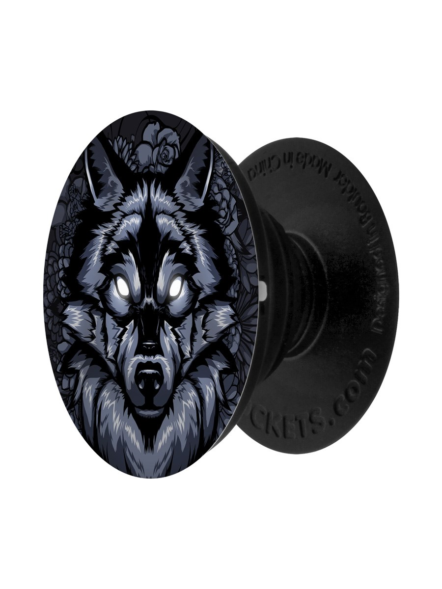 Unorthodox Lone Wolf Popsocket Phone Stand And Grip