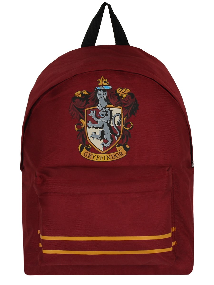 harry potter gryffindor crest burgundy backpack buy. Black Bedroom Furniture Sets. Home Design Ideas