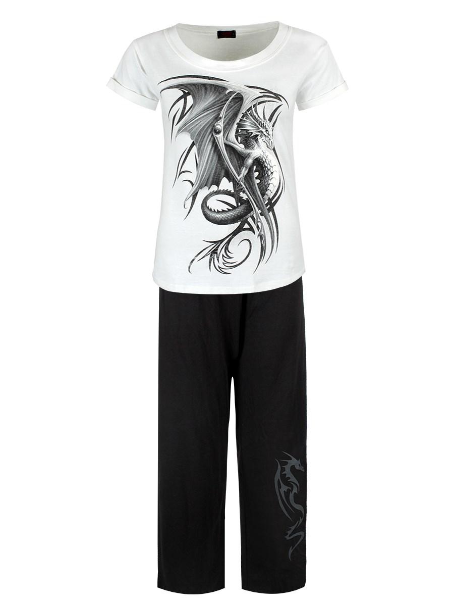 SPIRAL DIRECT BREAKING OUT 4PIECE Mens Pyjama Set//Dragon//Nightwear//Top