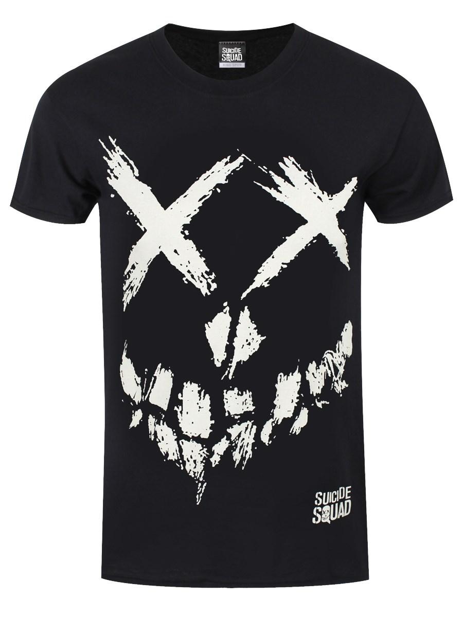 Black t shirt skull - Front