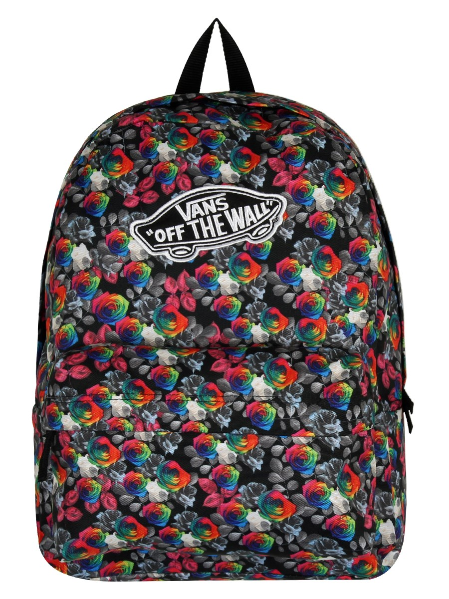 ab5b5cdeceb5 Vans Rainbow Floral Realm Backpack - Buy Online at Grindstore.com