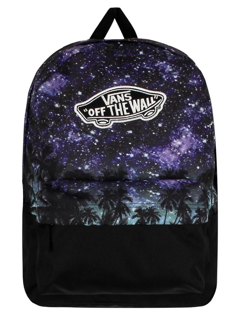 vans palm night realm divide backpack buy online at. Black Bedroom Furniture Sets. Home Design Ideas