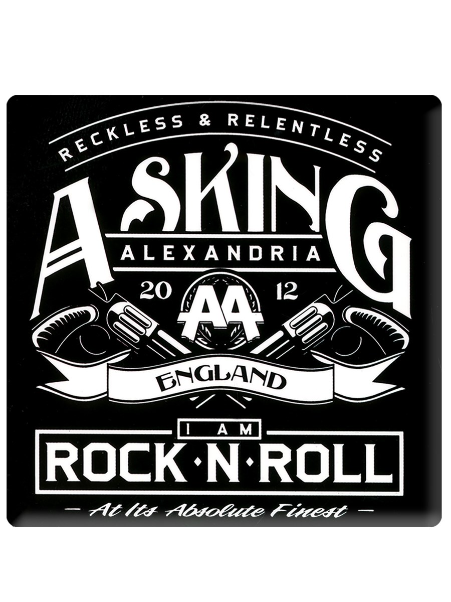 Black Asking Alexandria Logo Wallet