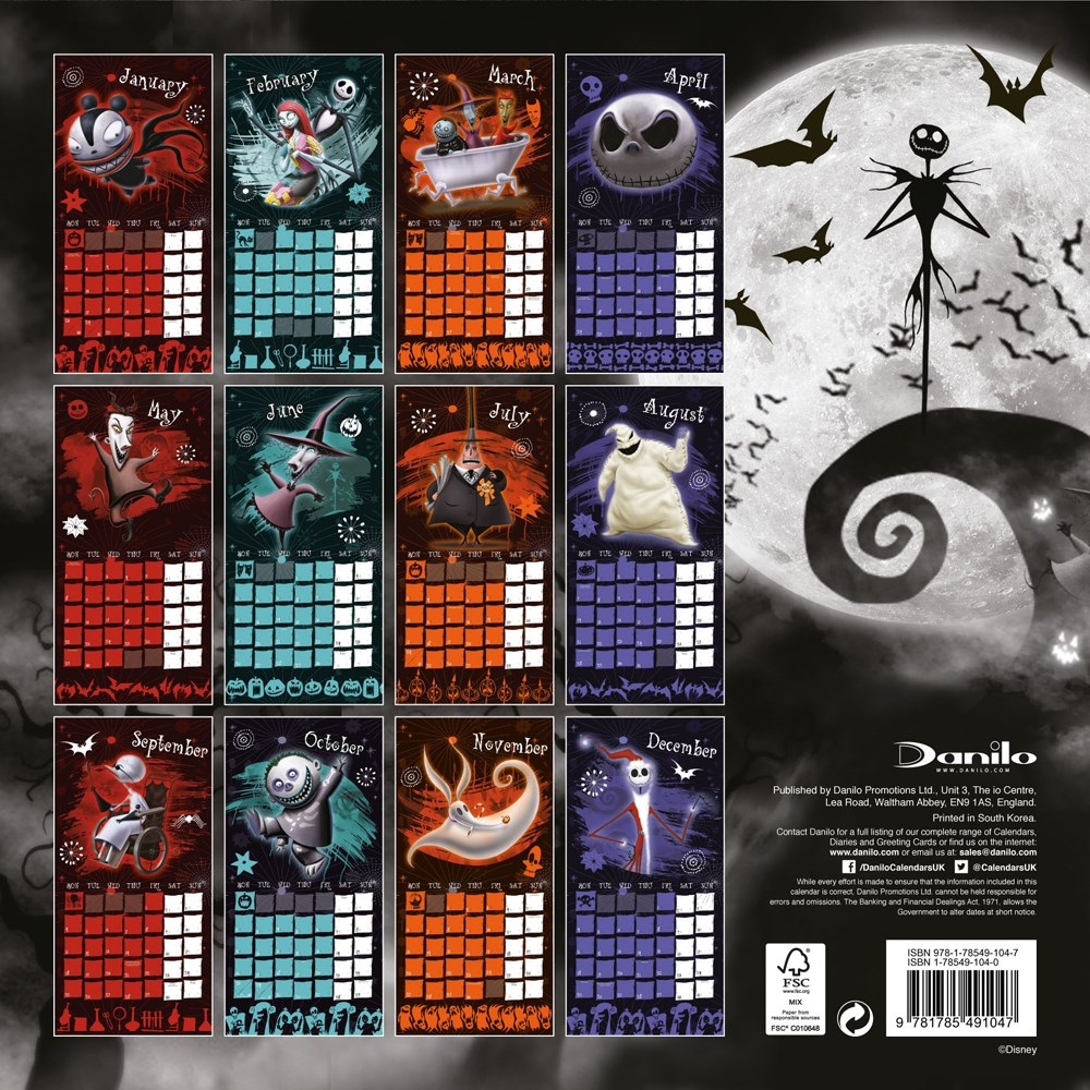 Nightmare Before Christmas Merch